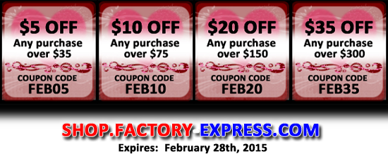 February 2015 Coupon Codes